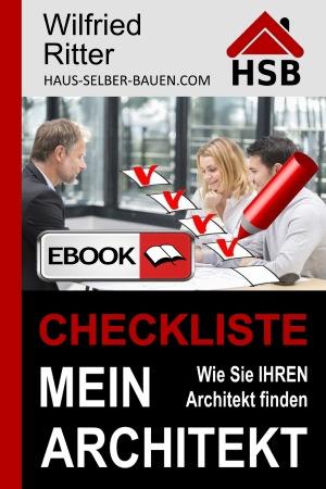 eBook 'Checkliste Mein Architekt'