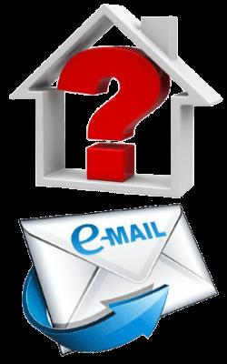 Hausbau-Fragen E-Mail-Service
