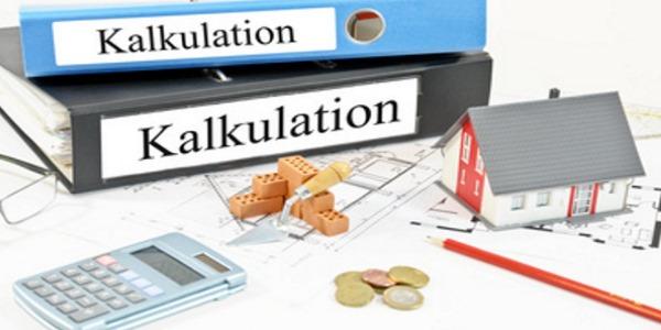 Hausbau-Kalkulation