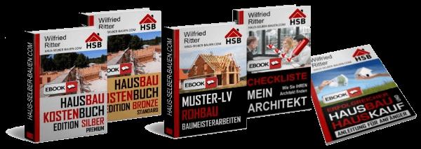 Hausbaukostenbuch Kombipaket Edition Gold