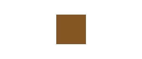 Farbe Braun auf Weiß