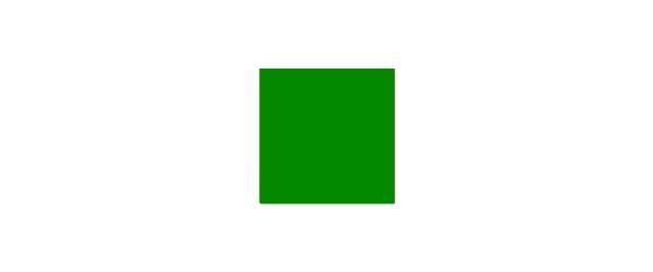 Farbe grün auf Weiß