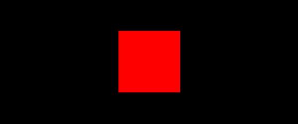 Farbe Rot auf Schwarz