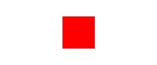 Farbe Rot auf Weiß