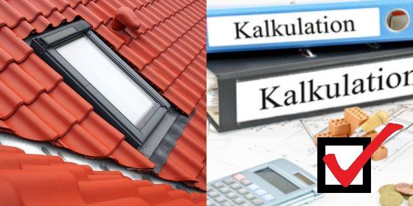Preisgrundlage Dachfenster einbauen