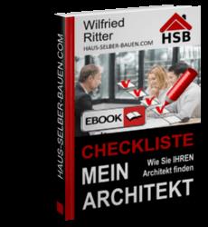 PDF-eBook 'Checkliste Mein Architekt'