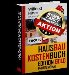 Kombi-Paket HausbaukostenBuch Edition Gold