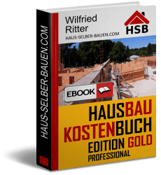 eBook HausbaukostenBuch Edition Gold Professional
