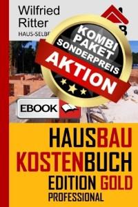 eBook Hausbaukostenbuch Edition Gold Sonderpreis
