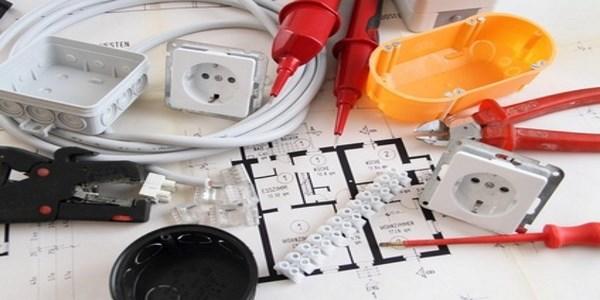 Bauetappe Elektroinstallation