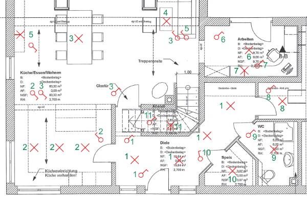 Elektroplanung: Schalter, Dosen & Leuchten beim Hausbau planen