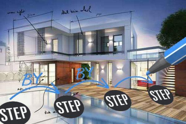 Haus entwerfen Schritt für Schritt