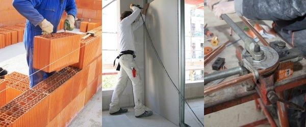 Haus bauen baustelle  Haus Selbst Bauen: DIY-Bewertung und Video-Anleitungen