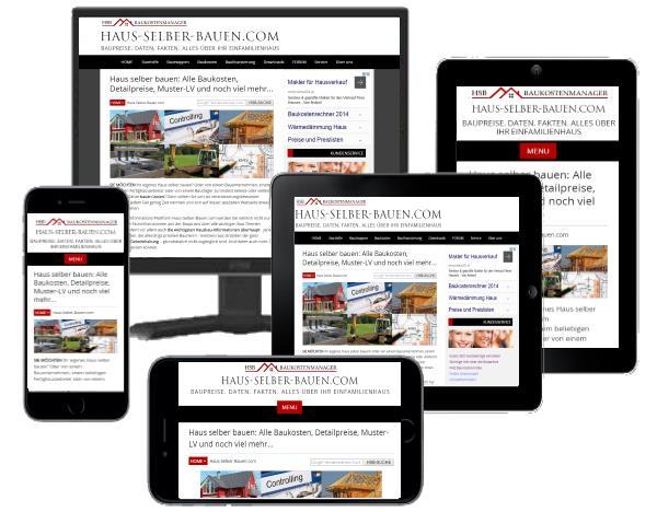 Responsive Design Haus-Selber-Bauen.com