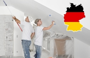 Malerarbeiten in Deutschland von Fachleuten machen lassen