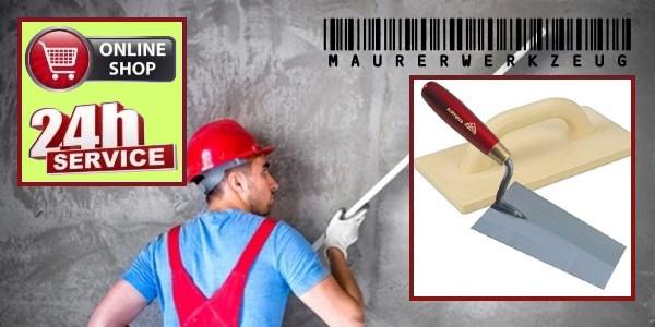 Maurerwerkzeug online kaufen