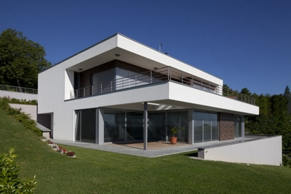 Beispiel für Passivhaus bauen
