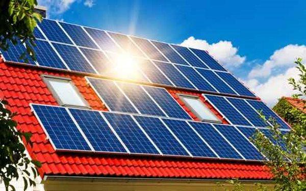 Solare Ausrichtung für Passivhaus