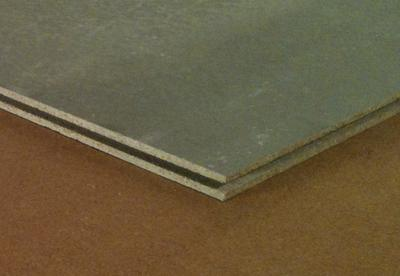 Porotect Unterboden, Deckplatte zementgebundene Spanplatte