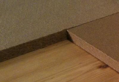 Porotect Unterboden, Unterplatte Holzfaser