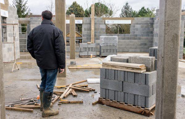Beton für Betonsäulen
