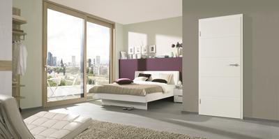 Weißlack Zimmertüren schaffen ein angenehmes Raumempfinden