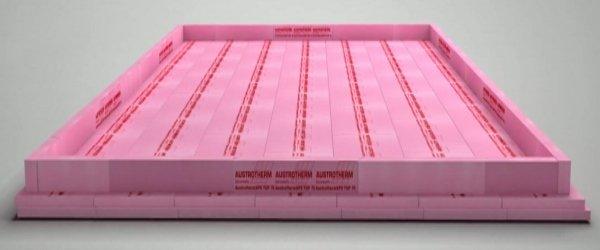 Fundamentplatten-Dämmsystem