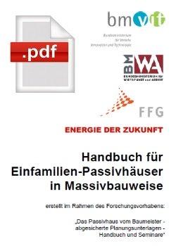 Handbuch EFH-Passivhäuser
