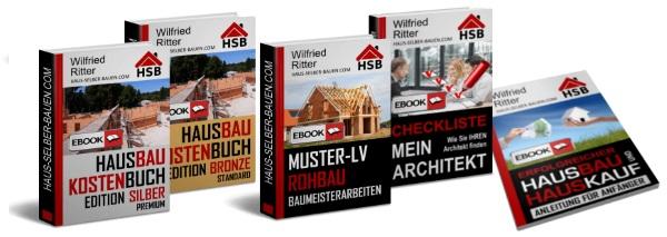 Hausbau-eBooks Kombipaket