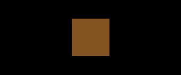 Farbe Braun auf Schwarz