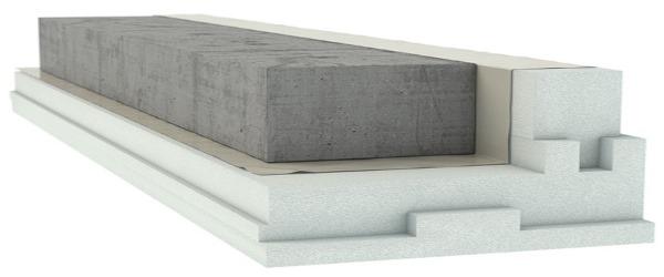 Passivhaustaugliche Schalung Bodenplatte