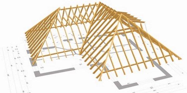 CAD Dachstuhl