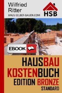 eBook Hausbaukostenbuch Edition Bronze
