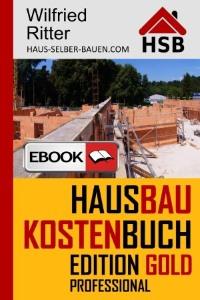 eBook Hausbaukostenbuch Edition Gold