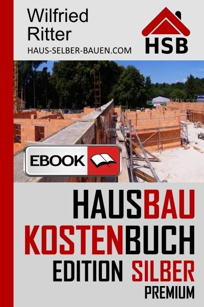 Hausbaukostenbuch Editionen Silber