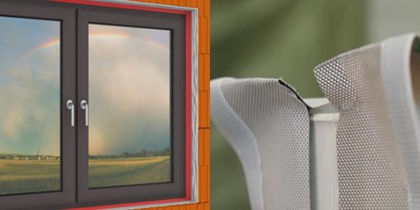Luftdichter Fenster-Einbau