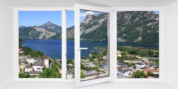 Bauetappe Fenster einbauen