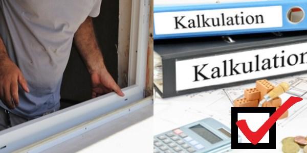 Fenster montage handwerkerpreise im detail - Fensterrahmen einputzen ...