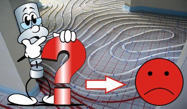 Fußbodenheizung bei Passivhaus