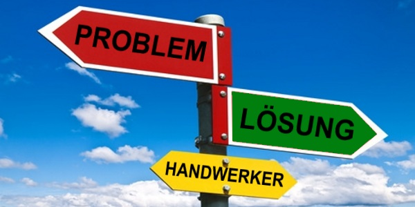 Problemlösung mit Handwerkern
