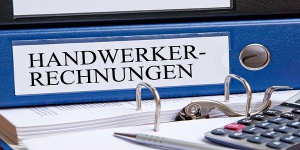 Handwerkerrechnung bezahlen