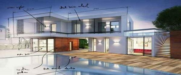 Hausbau-Planung