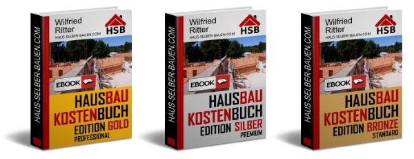 Hausbaukostenbuch Editionen