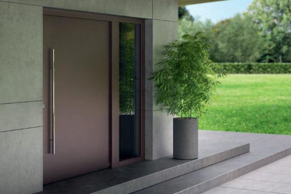 Qualitäts-Haustür einbauen