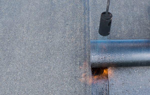 Kellerabdichtung mit Bitumenbahn