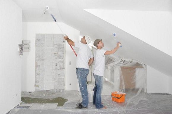 Malerarbeiten - Haus selber ausmalen