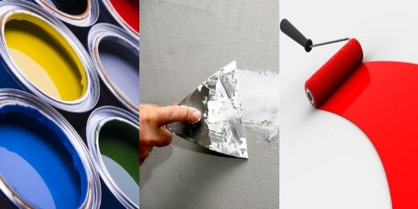 Bauetappe Malerarbeiten
