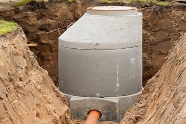 Rohbau erstellen - Kanalisation