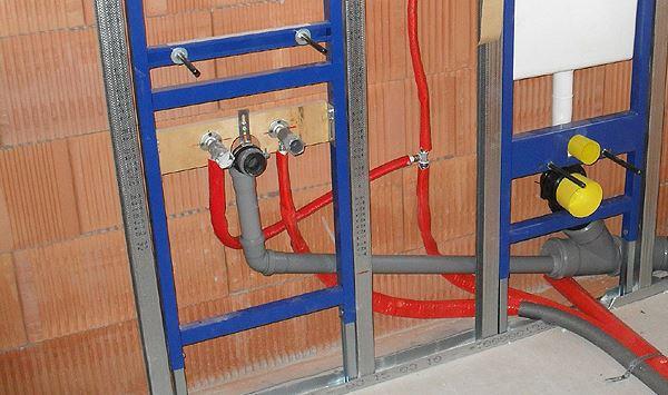 Sanitär Vorwand-Installation