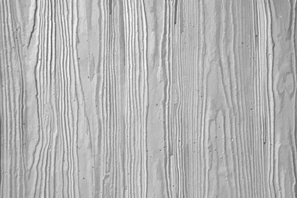 Betonoberfläche mit Holzstruktur